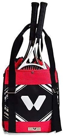 Mochila Deporte para Tenis y Yoga - Mochila de Tenis - Raquetero/Paletero - Bolso de Deporte - Compartimiento para Raquetas de Tenis - Bolsas para Colchoneta de Yoga - 35 x 40 x 20 cm