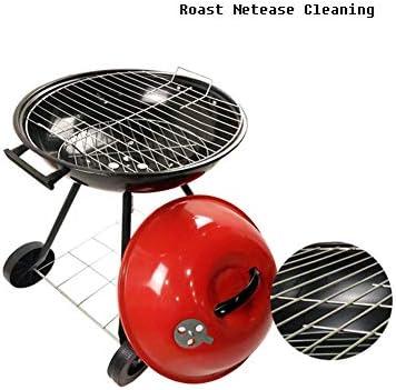 Barbecue Portable Barbecue À Grill Charbon en Acier Inoxydable Grill De Pique-Nique De Cuisson Démontable pour BBQ Extérieur Camping(44 * 73 Cm)