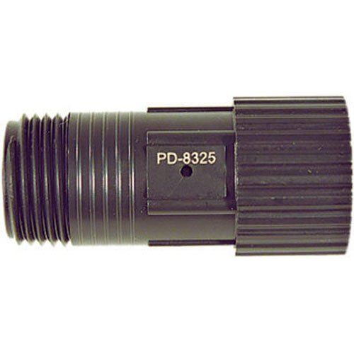 DIG D46 D 46 Drip Irrigation Pressure Regulator, Black