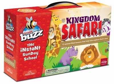 Kingdom Safari Kit (Buzz Fall 2015: Pre K & K Kingdom Safari Kit)