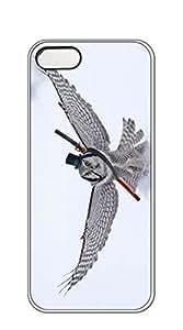AWU DIYNBcase Funny Eagle hard PC case for iphone 5