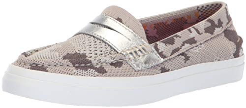 Cole Haan Women's Pinch Weekender LX Stitchlite Loafer Flat, Dove CAMO Knit, 5 B US (Cole Haan Camo)