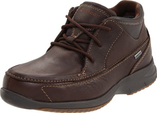 Dunham by New Balance Men's Ridgecrest Gore Tex Boot,Brown Leather,11 2E US