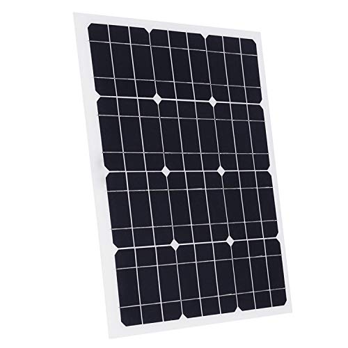 Chinaboy 10W 20W 30W 40W 50W Watt Extremely Flexible Monocrystalline Solar Panel Charge Battery Clips for Boat Car Power Supply USB (40W 18V)