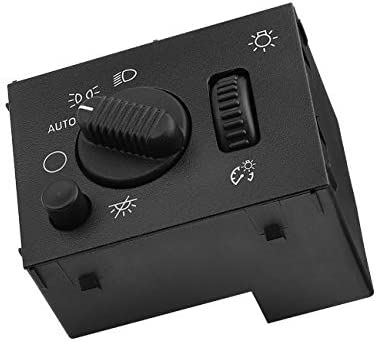 Headlight Switch for Chevy Silverado GMC Sierra 2003-2007 Suburban Avalanche Yukon Tahoe Cadillac Escalade Headlamp Dimmer Switch Replace OE # 19381535 D1595G 15194803