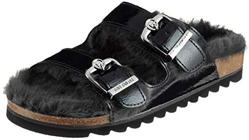 Noir black Tailor 00001 Chaussons Tom Bas 5893402 Femme 6qWvFO