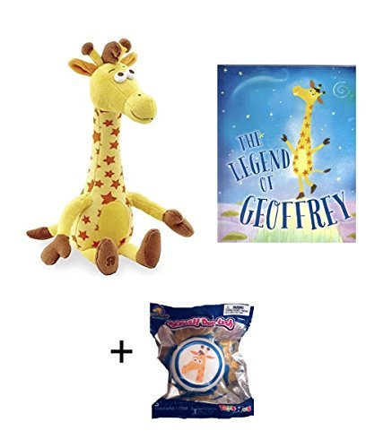 Geoffrey the Giraffe Toys R Us EXCLUSIVE Bundle of 18