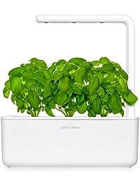 Click U0026 Grow Smart Garden 3   Indoor Fresh Herb Growing Kit With 3 Basil  Cartridges