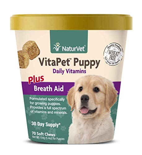 NaturVet - VitaPet Puppy Daily Vitamins for Dogs -...