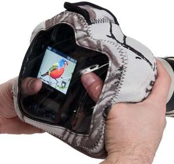 LensCoat BodyGuard Pro CB camouflage neoprene protection camera body bag case Clear Back Realtree AP Snow