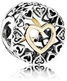 PANDORA - Charm Cercle de l'Amour Ajouré Argent 925/1000 Pandora 792009CZ