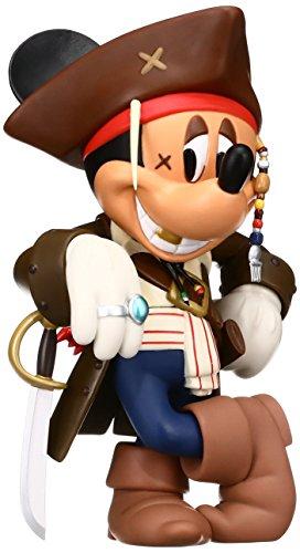 (Medicom Disney Pirates of the Caribbean 4 Captain Jack Sparrow Mickey Vinyl Collector Doll)