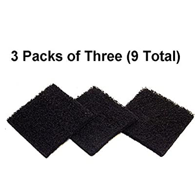 AF Replacement Exaco ECO 2500 9 Pack Replacement Carbon Filter : Garden & Outdoor