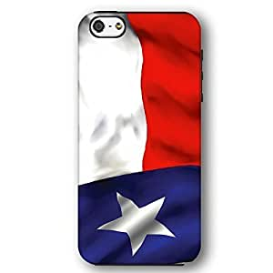 Texas USA State Flag Lone Star State For Iphone 5/5S Case Cover Armor Phone Case