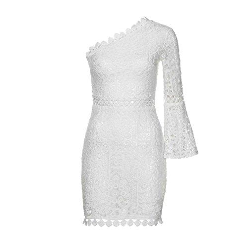... LACE Partykleid Kleid Damen,Ärmellos Kleider Frauen Solide Kleid  Minikleid Kleidung Abendkleider Partykleid MaxiKleid Spitzekleid e3253b4a70