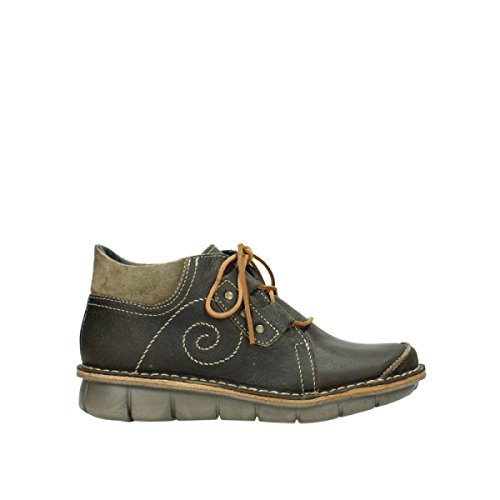 50730 500 Botas Forest mujer Leather Wolky 8384 Green Oiled para ROwxaWXq