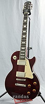 Epiphone Les Paul STANDARD PLUS-TOP PRO Electric Guitar with Coil-Tapping, Honey Burst by Epiphone