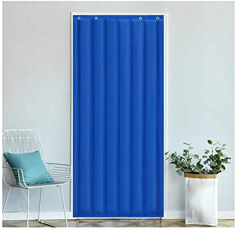 SHIJINHAO ドアカーテンオックスフォードは、ノイズ防風カーテン冬の熱保護ヘビーデューティ家庭用ドアパネル停電防水防音スクリーンドアを温めます (Size : 1.5x2.4m)