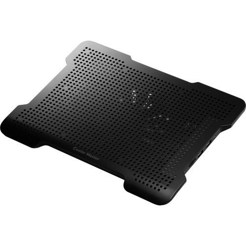 Cooler Master Co., Ltd - Cooler Master Notepal X-Lite Ii - Ultra Slim Laptop Cooling Pad With 140 Mm Silent Fan - Cooler Master Notepal X-Lite Ii
