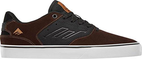 Black Black Dark Shoe Skate US Low Emerica Vulc The Men's Grey M D Reynolds Brown H0qxHzS6