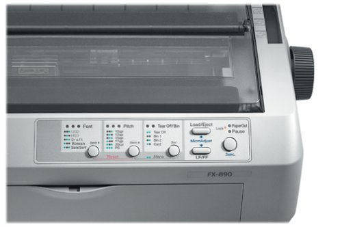 Epson FX-890 Impact Printer (C11C524001) by Epson (Image #1)