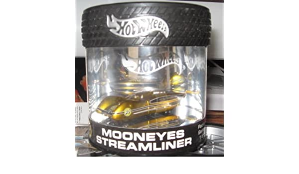 Amazon com: Hot Wheels 100% Mooneyes Streamliner Oil Can Gold Hobby