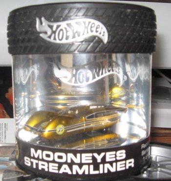 Amazon com: Hot Wheels 100% Mooneyes Streamliner Oil Can