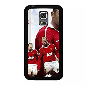 Manchester United Wayne Rooney Cell Phone Case Graceful Stylish for Samsung Galaxy S5 Mini