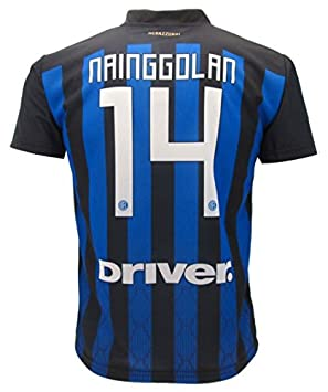 quality design dd944 cd86b Soccer Football T-Shirt RADJA NAINGGOLAN 14 F.C. Inter HOME ...