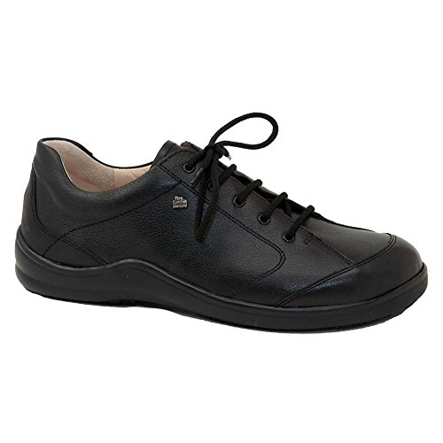 Finn Comfort Soft Cusco Womens Fashion Sneakers, Black Okapi, Size - 41 by Finn Comfort