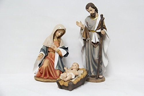 Christian Figurine - Nativity - 3 Piece Set 16'' High by Hi-Line Gift Ltd.
