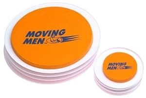 Moving Men 1545-12 8-Piece Furniture Slider Set