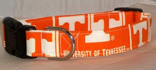 University of Tennessee Volunteers dog collar buckle or martingale with leash set - Buckle Tennessee Volunteers