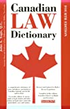 Canadian Law Dictionary, John A. Yogis, 0764106163