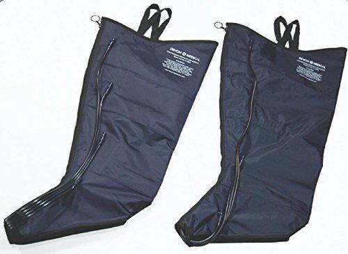Medline Industries MDSD300M Lymphedema Lower Extremity Garment, 4-Chamber, Full Leg, Medium