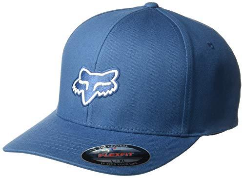 Fox Men's Legacy Flexfit HAT, Dusty Blue, S/M