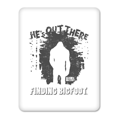 Finding Bigfoot He's Out There iPad Case
