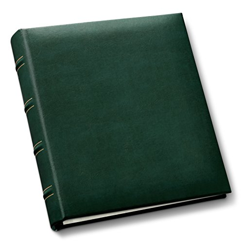 Gallery Leather Compact  Leather Album , Hunter Green by Gallery Leather