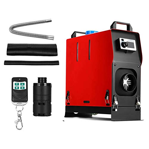 Partol Diesel Air Heater 5kw 12V All In One Kit W/Remote Controller Exhaust Pipe Air Duct For RV Trucks Boat Car Trailer