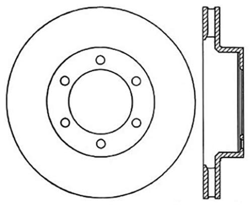 StopTech 120.44129CRY Brake Rotor