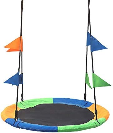 ブランコ スリングで100キロの負荷で子供レストスイングシート(3色オプション) ジャングルジム・ブランコ (色 : Multi-colored, Size : Free size)
