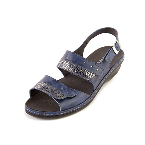 Fit Uttakbar Innersåle Royal Leather Ee Sandpiper shimmer Women's Insole Construction Sandpiper Bredt Sandal Sandal Mykt Konstruksjon Kvinners Wide 'hayley' Shimmer 'hayley' Soft Royal Ee Skinn Fit Removable qzqZgwS