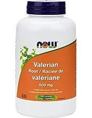 NOW Valerian Root 500mg 250 Veg Capsules