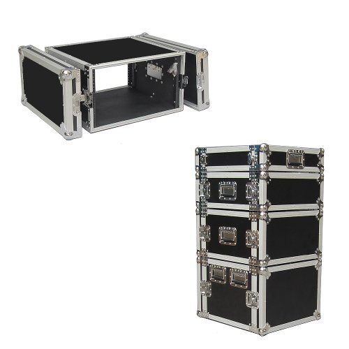 4 Space 4u 18 Inches Deep Heavy Duty 3/8 Ply ATA Amp Rack Case - Closeout by Roadie Products, Inc.