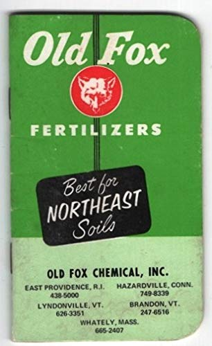 Old Fox Fertilizers: Best for Northeast Soils, Old Fox Chemical, Inc, Small Blank Lined Booklet/Notebook