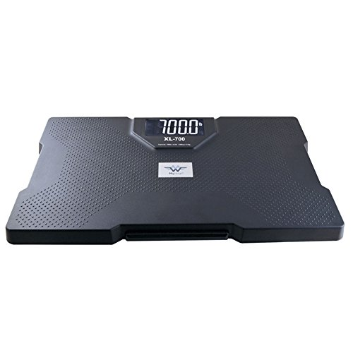 (My Weigh SCMXL700T 700 lb 320kg Talking Bathroom Scale)