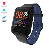 Fitpolo Color Screen Fitness Watch, IP67 Waterproof Smart Activity Tracker with Heart Rate Monitor,Pedometer,Calorie Counter,Sleep Monitor, SMS/SNS Alert