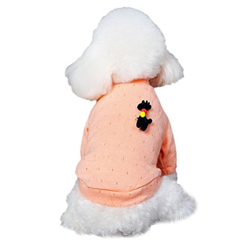 [Uniquorn Autumn And Winter Dog Clothes Teddy Bichon Small Dog Warm Comfortable Temperament Knitted] (50s Themed Costumes)