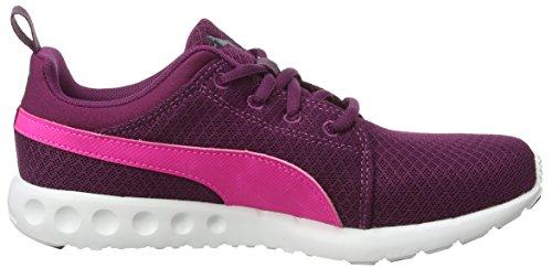 Puma Carsonmeshwf6, Zapatillas de Atletismo para Mujer Morado (Purple/Pink 02Purple/Pink 02)