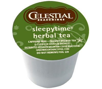 Celestial Seasonings Sleepytime Herbal Tea for Keurig Brewing Systems 24 K-Cups (4 Pack) by Celestial Seasonings